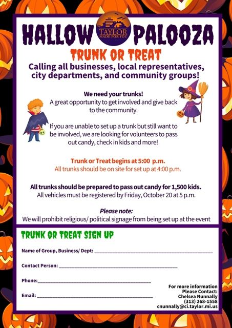 PALOOZA TRUNK TREAT WEB