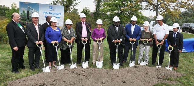 horticultural center ground break