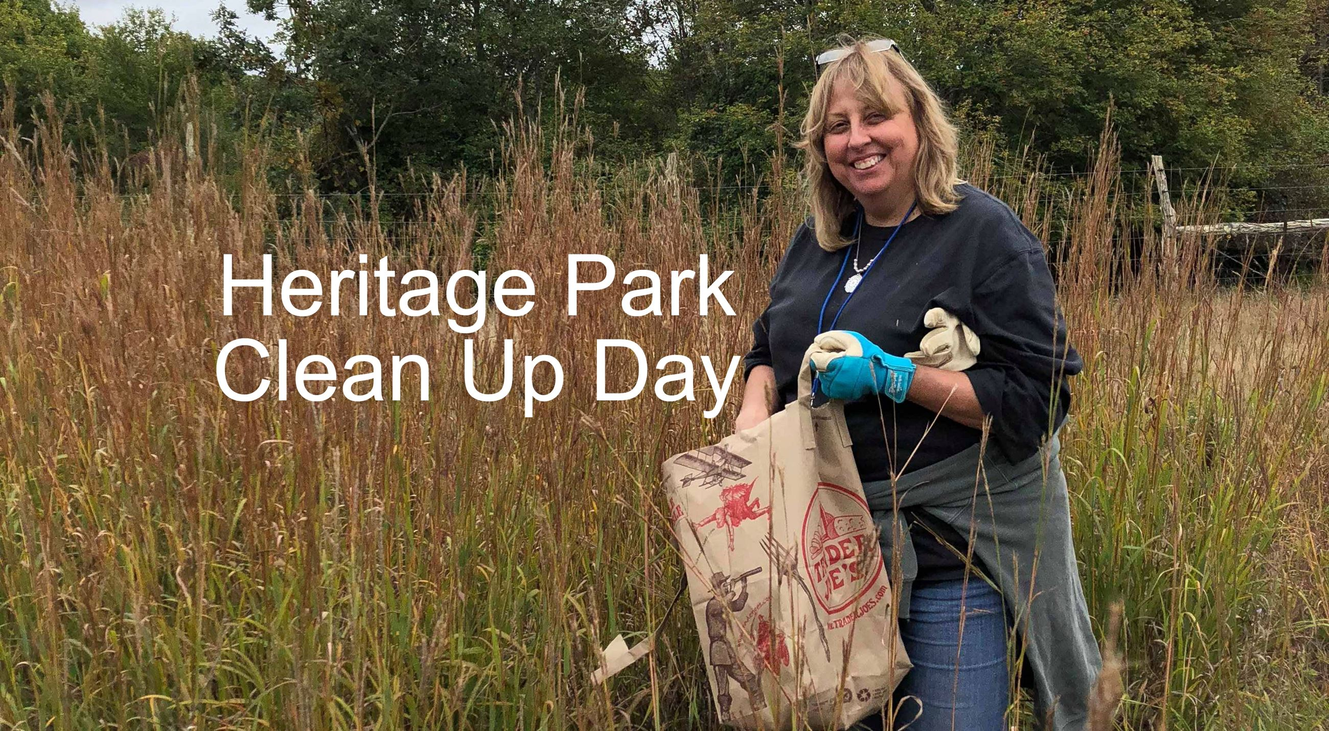 Heritage Park Clean Up Day